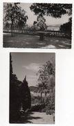 """CUERS--""""Le Cigalou"""" --Résidence Dans Parc ---2 Cartes-photos De Type Cpsm 14 X 9 (pas D'indication De Lieu ) - Cuers"""