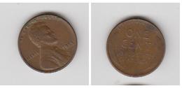 USA -- 1 CENT 1955 - Émissions Fédérales