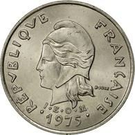 French Polynesia, 10 Francs, 1975, Paris, SUP, Nickel, KM:8 - French Polynesia