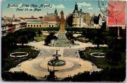 AMERIQUE -- ARGENTINE - BUENOS AIRES  - Plaza 25  De Mayo - Argentina