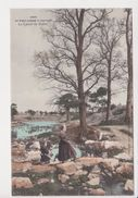 26317-2cpa - Pont L'abbé à Loctudy -lavoir Suller Vallée -3695 3694 Villard Colorisée - Costume Breton Lavandiere - Loctudy