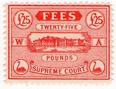 (I.B) Australia - Western Australia Revenue : Supreme Court £25 - Australia