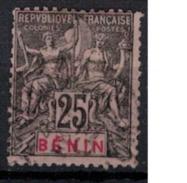 BENIN             N°  YVERT     40                OBLITERE       ( O   2/03 ) - Bénin (1892-1894)