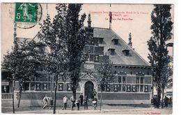 Cpa De L'exposition Internationale Du Nord De La France - Roubaix 1911 - Le Palais Des Pays-bas - - Roubaix