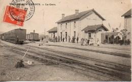71 TOULON-sur-ARNOUX  La Gare - Gares - Avec Trains