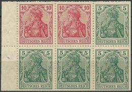 DEUTSCHES REICH 1919 Mi-Nr. HBL 23 ** MNH - Markenheftchen