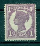 Königin Victoria, Queensland Nr. 122 A, Falz * - 1860-1909 Queensland
