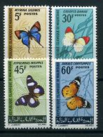 MAURITANIE ( POSTE ) : Y&T N° 214/217  TIMBRES  NEUFS   SANS  TRACE  DE  CHARNIERE , A  VOIR . - Mauritanie (1960-...)