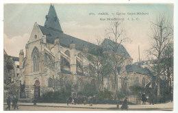 Paris - Eglise Saint-Médard Rue Mouffetard - Editions J.L.C. - Churches