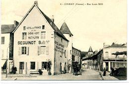 86 - CIVRAY - Rue Louis XIII - Civray