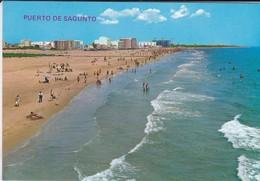 ESPAGNE---PUERTO DE SANGUNTO---la Playa--voir 2 Scans - Espagne