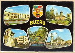 75-922 / ROM.   BUZAU  DIFFEREND VIEWS   1974 - Romania