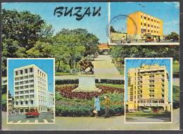 75-928/ ROM. BUZAU Differend VIEWS Sent To  SOFIA   1976 - Romania