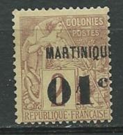 Martinique  - Yvert N°  7 (*)   - Ad 32111 - Martinique (1886-1947)