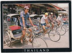 Bangkok: 4x RICKSHAW / TRICYCLE TAXI - (Thailand) - Taxi & Carrozzelle