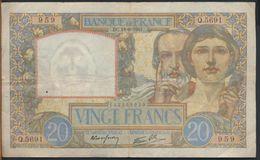 °°° FRANCE - 20 FRANCS 18/9/1941 °°° - 1871-1952 Antichi Franchi Circolanti Nel XX Secolo