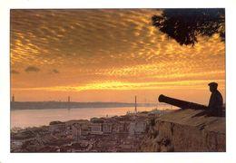 Portugal - Lisbonne - Vue Du Château St. Jorge Sur La Ville, Le Tage Et Le Pont - Sofoto - Cascais Nº LX7A - - Lisboa