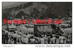 Reproduction D'une Photographie D'un Véhicule Publicitaire Pour La Marque Banania En 1985 Au Tour De France - Reproductions