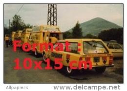 Reproduction D'une Photographie De La Caravane Publicitaire Pour La Marque Banania En 1985 - Reproductions