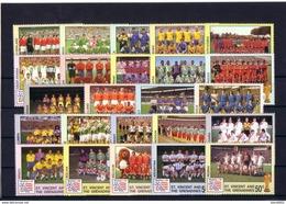 Football - Soccer World Cup 1994 - ST. VINCENT - Set 24v MNH ** - World Cup