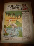 1949 LSDS : Les Pistes Scoutes (SCOUTISME); Triste Histoire Du Héron; Etc - La Semaine De Suzette