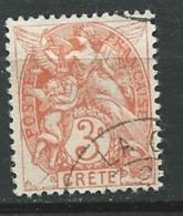 Crète   - Yvert N° 3  Oblitéré  -   Ad 32135 - Used Stamps