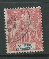 Saint Pierre Et Miquelon  - Yvert N°  73 Oblitéré   -   Ad 32149 - Gebraucht