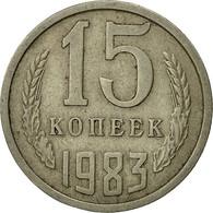 Russie, 15 Kopeks, 1983, Saint-Petersburg, TTB, Copper-Nickel-Zinc, KM:131 - Russia