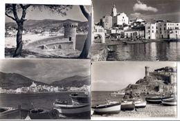 Lot 12 CPA COSTA BRAVA -CADAQUES/TOSSA DE MAR/LLORET/PLAYA... - Cartoline