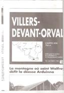 Villers-Devant-Orval-Carte IGN-70/3-4-1/25000+Belgique+France-Abbaye D'Orval-Avioth-Margut...-edit.Vers L'Avenir-1996 - Topographische Kaarten