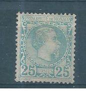 Monaco Timbre De 1885  N°6  Neuf Sans Gomme Signé Calves - Monaco