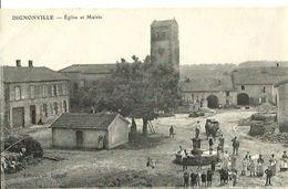 Dignonville Eglise Et Mairie - France