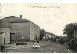 Dignonville Rue De La Praye - Autres Communes