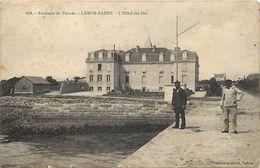 - Morbihan -ref-D450- Larmor Baden - Hotel Des Iles - Hotels - Voir Etat - - France