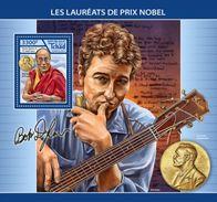 Tchad 2017, Nobel Price, Dalai Lama, Bob Dylan, BF - Buddhism