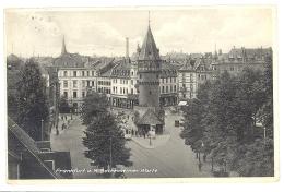CPA ALLEMAGNE - DEUTSCHLAND - FRANKFURT A. M. - Bockenheimer Warte - Frankfurt A. Main