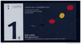 """Regionalgeld, Local Currency """"COINSTATT"""""""" 1 Unit, UNC, Paper - Banknoten"""