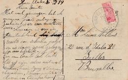 Haerelbeke 1919 - Timbre Coupé - 1915-1920 Alberto I