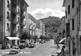 Cartolina Porretta Terme Viale Mazzini - Bologna