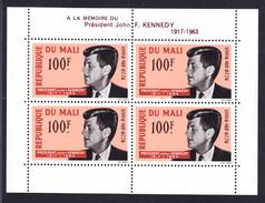 MALI BLOC N°    3 ** MNH Neuf Sans Charnière, TB (D0034) J.F.Kennedy 1964 - Mali (1959-...)
