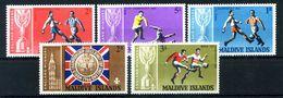 1967 MALDIVE SERIE COMPLETA MNH ** - Maldive (1965-...)