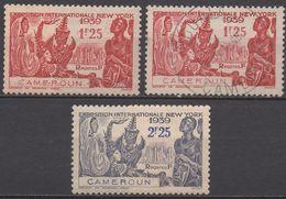 CAMEROUN     N°160/161 NEUF*et 160 OBL VOIR  SCAN - Cameroun (1915-1959)