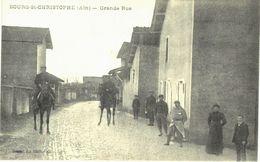 Bourg Saint Christophe - Grande Rue - Animé - Militaire - Frankrijk