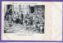 5 - CONSTANTINOPLE - CAFE TURC - Turquie