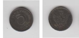 POLOGNE - 5 FENIGON 1917 - Pologne