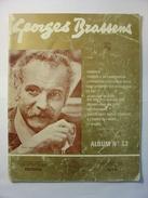 PARTITIONS  - GEORGES BRASSENS - ALBUM N°13 - 11 Titres - PAROLES ET MUSIQUE - EDITIONS MUSICALES TUTTI - Spartiti