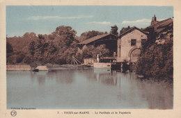 TOURS SUR MARNE Le Perthuis Et La Papeterie - Autres Communes