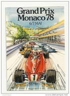 X 350 GRAND PRIX DE MONACO  78 - Grand Prix / F1
