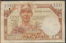 °°° FRANCE - 100 FRANCS TRESOR PUBLIC °°° - Treasury