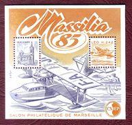 FRANCE Bloc CNEP N° 6 - Neufs ** MASSILIA - Hydravion -  1985 - CNEP